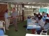 Meeting at Milne Bay