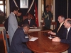 Signing of contract in Governor\'s office