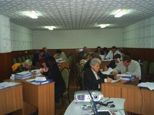 Workshop Ministry of Finance, Kishinev